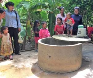 SHG- gruppen I Trapang Veng landsbyen,574x480